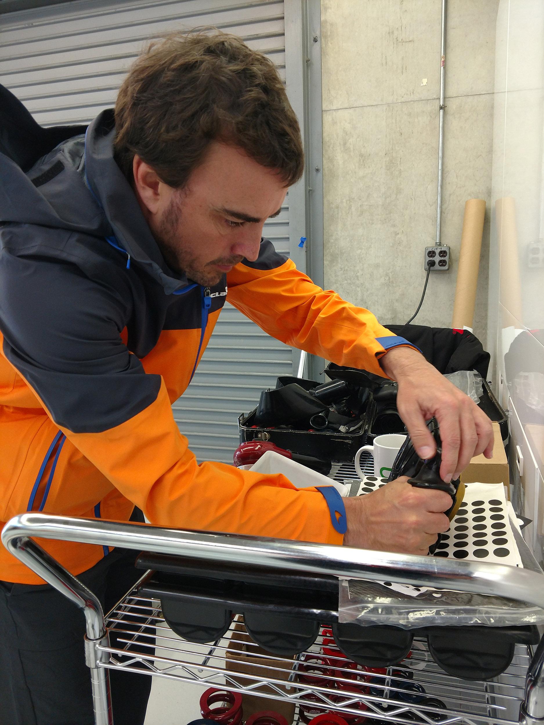 Fernando Alonso Molding Grips