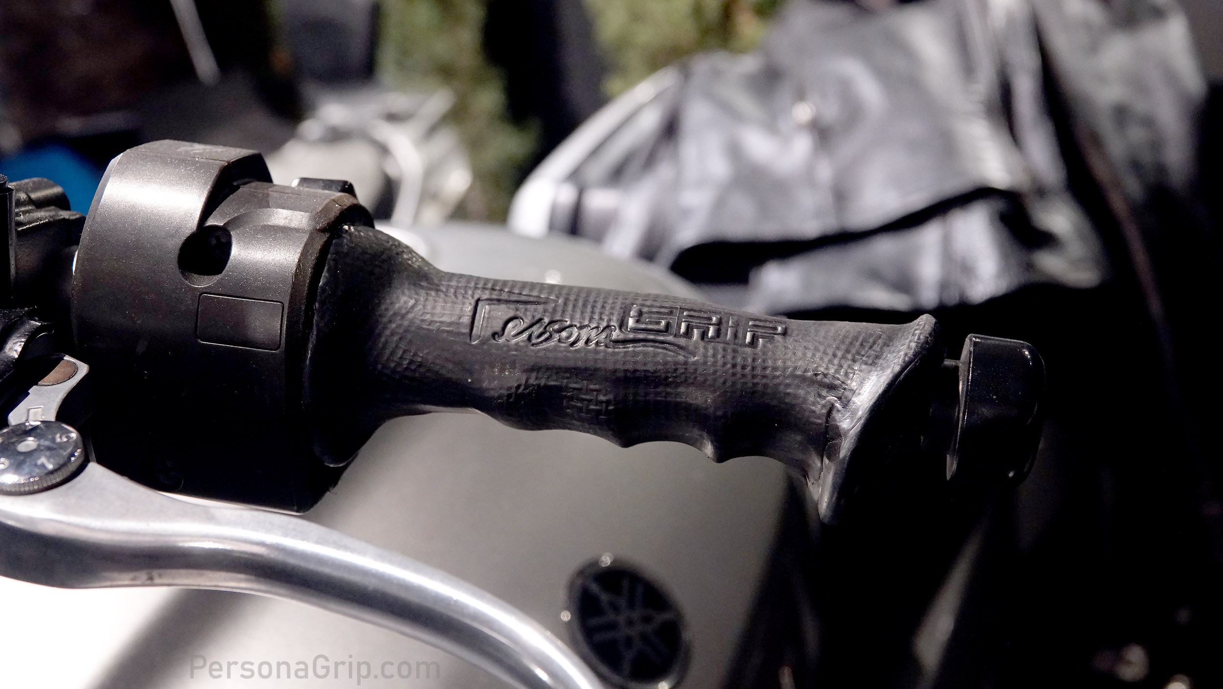 Custom Molded Hand Grips for Motorcycles